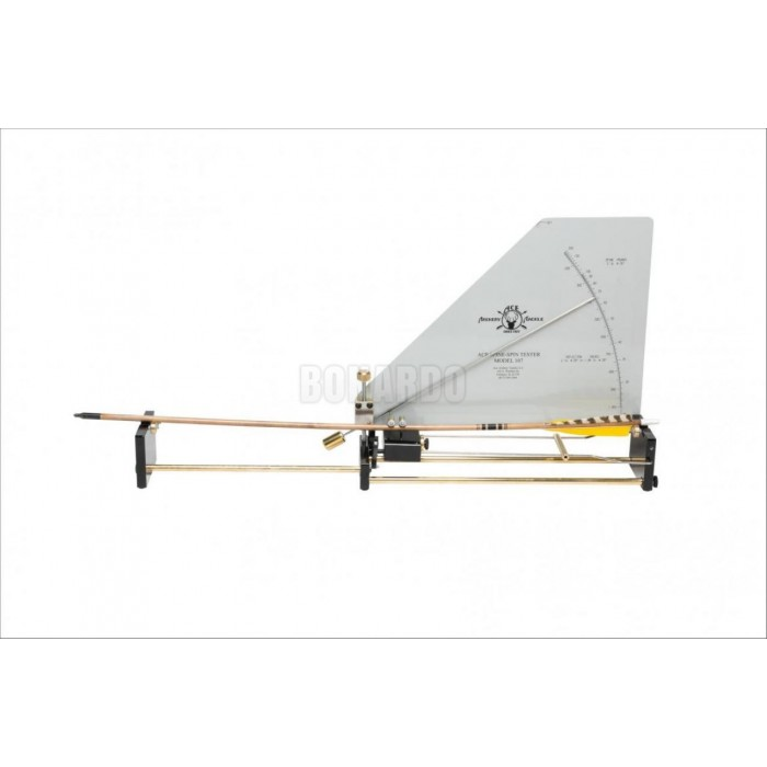 ACE ARCHERY TACKLE ARROW SPINE-SPIN TESTER MODELLO 107 - Bonardo