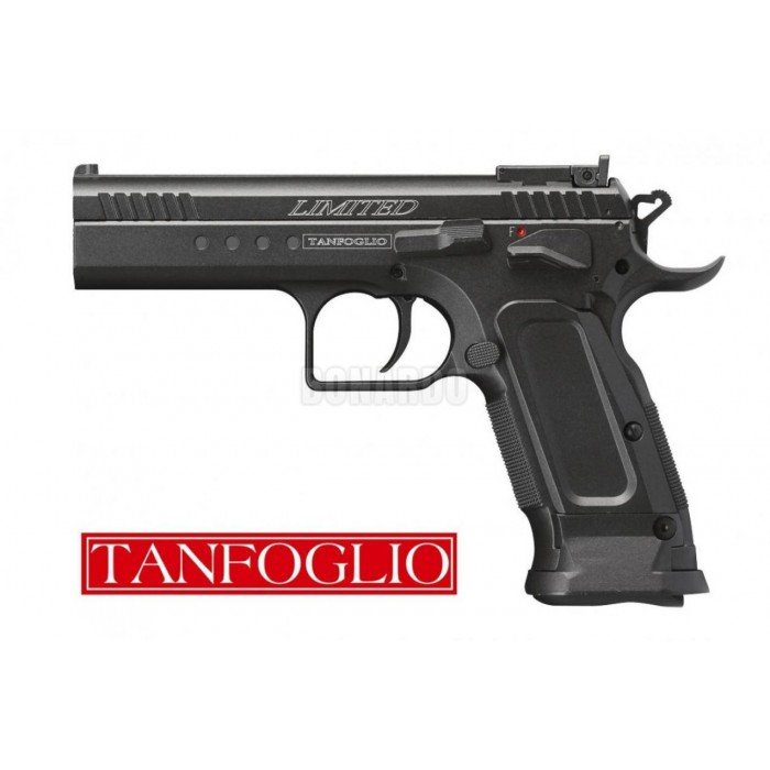 TANFOGLIO PISTOLA CO2 LIMITED CUSTOM CAL. 4.5 BB - Bonardo