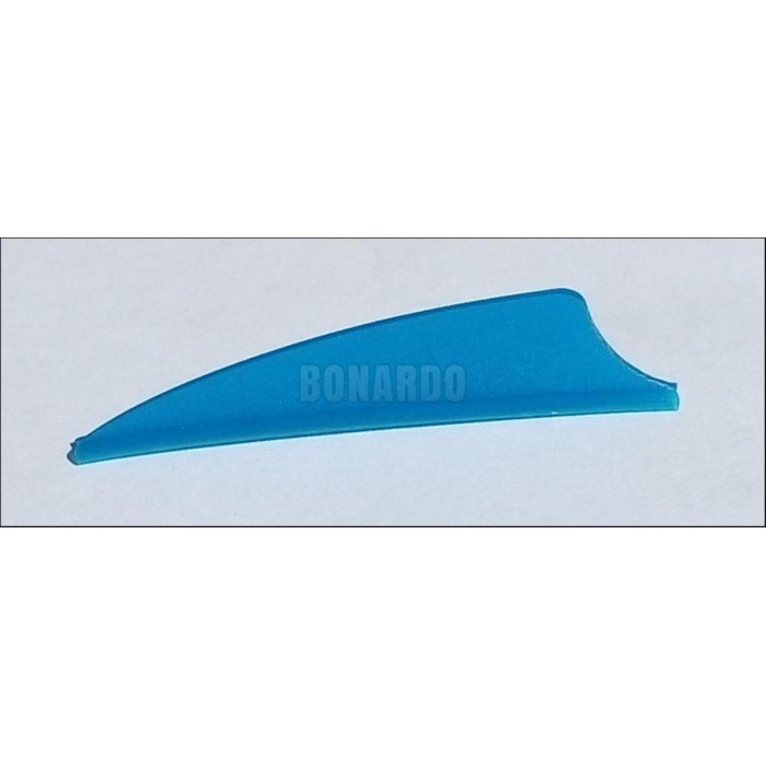 "BOHNING ALETTA IN PLASTICA A SCUDO 1.75"" OLD SERIES SATIN BLUE - Bonardo"