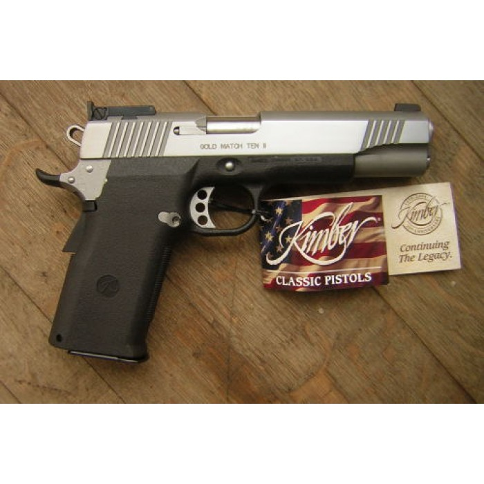 KIMBER GOLD MATCH TEN II CAL.45ACP - Bonardo