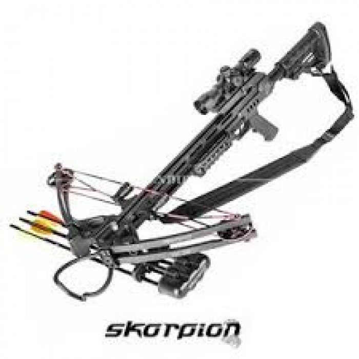 SKORPION XBC350 BLACK 185# CON ACCESSORI - Bonardo