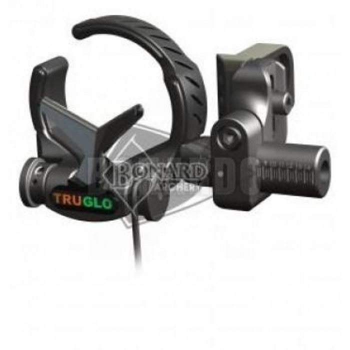TRUGLO REST A CADUTA DOWN DRAFT REVERIBILE RH/LH BLACK - Bonardo