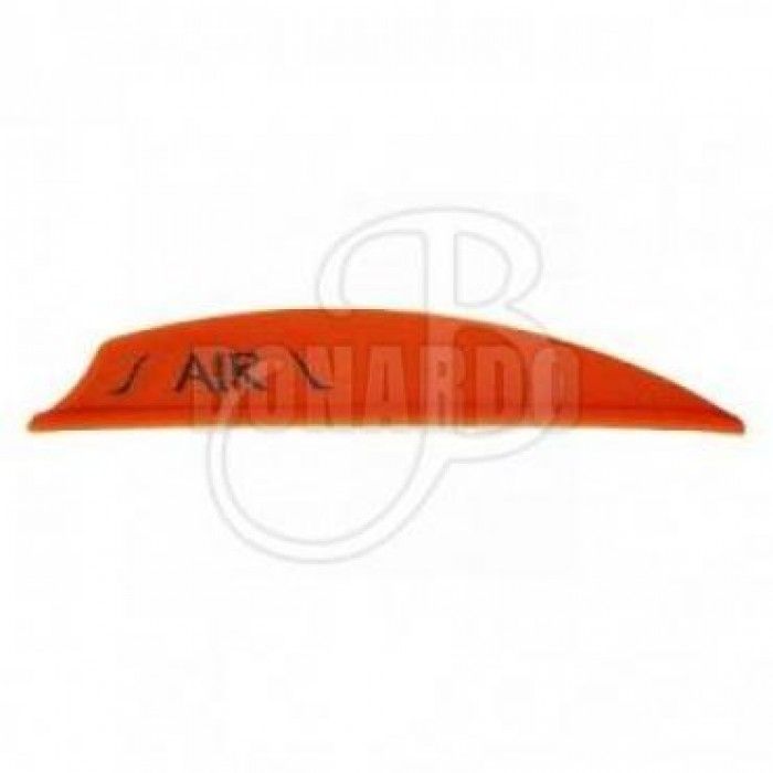 "BOHNING ALETTE IN PLASTICA AIR 2"" NEON RED - Bonardo"