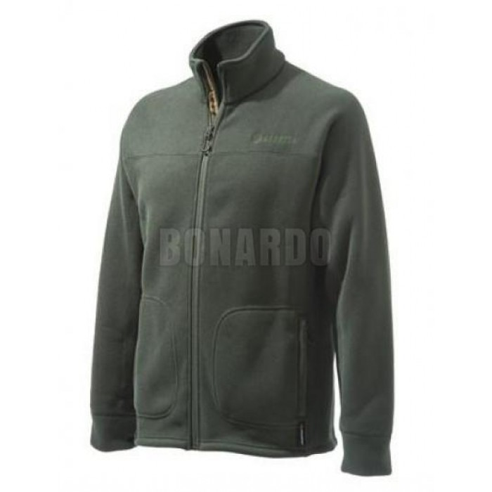 BERETTA PILE POLARTEC B-ACTIVE SWEATER BROWN - Bonardo