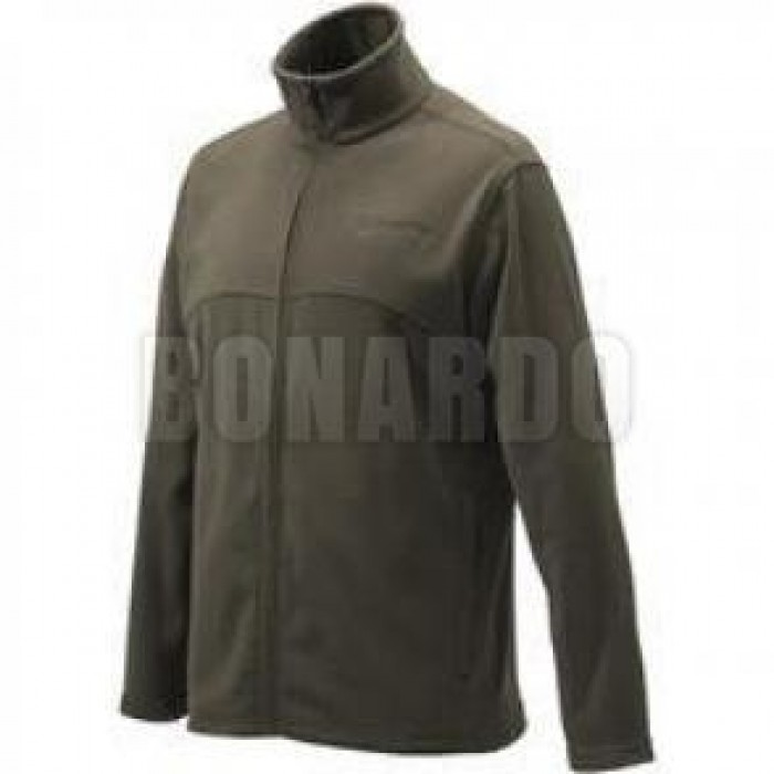 BERETTA PILE FULL ZIP FLEECE GREEN - Bonardo