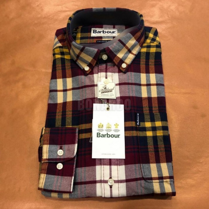 BARBOUR CAMICIA  HIGHLAND CHECK 19 - Bonardo
