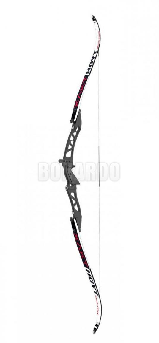 "HOYT RISER XAKT 25"" 2021 LH PITCH BLACK - Bonardo"